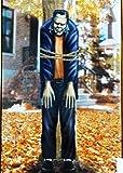Halloween Party~tie a Frankenstein Tree phone Pole yard Decoration