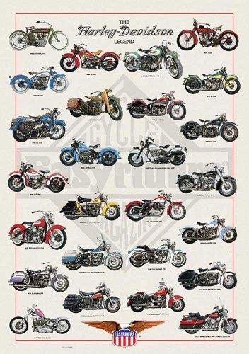 empire-536655-harley-davidson-legend-poster-de-motos-harley-davidson-68-x-98-cm-diseno-con-texto-en-