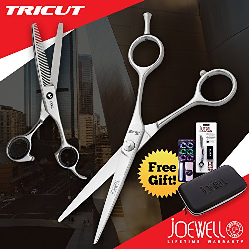 "Joewell S4 5.5"" Shears / Scissors + Free Thinner & More"