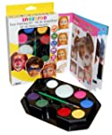Snazaroo Face Paint Palette Kit, Rain...