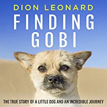 Finding Gobi: The True Story of a Little Dog and an Incredible Journey Audiobook by Dion Leonard Narrated by Brad Channer