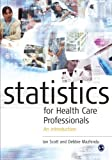 img - for Statistics for Health Care Professionals: An Introduction book / textbook / text book