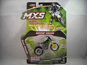 MXS Fly Wheelies Rippin Racer 2010 Ogio No Rider