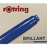 Rotring Lot de 6 cartouches d'encre pour Stylo - Bleu brillant