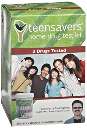 TeenSavers Home Drug Test Kit for 3 Drugs of Abuse - Parental Support Guide, 24/7 Support, and Free Lab Confirmation