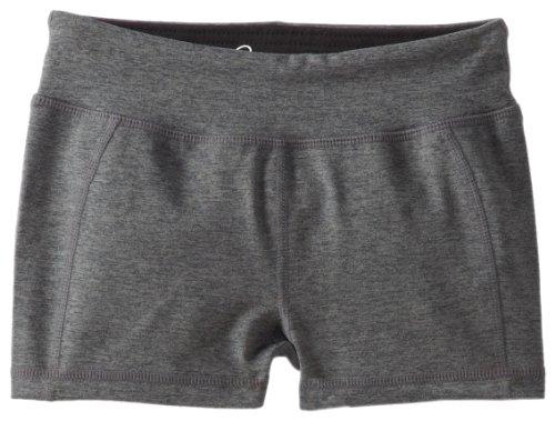Soybu Girl's Sporty Shorts, Storm Heather, Medium