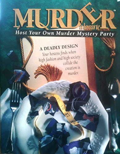 Murder a la Carte - A Deadly Design - 1