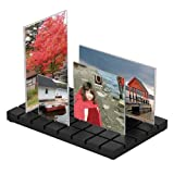 Umbra Cityscape Desktop Multi Photo Frame, Black