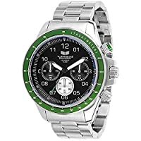 Vestal Men's ZR2006 ZR-2 Chrono Brushed Silver Watch by Vestal