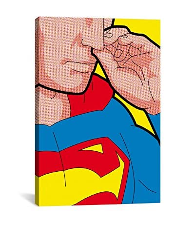 Super-Boogie Gallery-Wrapped Canvas Print