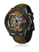 Timecode Reloj de cuarzo Man Tc-1012-06 Verde Militar 50 mm