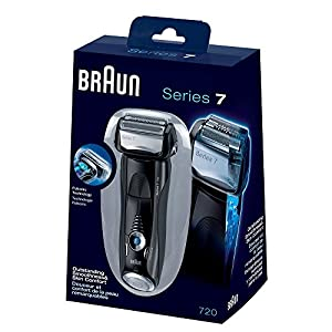 Braun Series 7-720s Pulsonic Men's Shaver (Black)