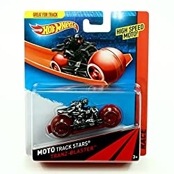 TRANZ-BLASTER Hot Wheels 2013 Moto Track Stars High Speed Motorcycle (BDN47)