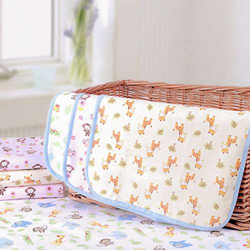 Waterproof Bed Pad U2013 Incontinence / Bed Wetting Pad U2013 Protector For  Mattress And Sheets U2013 Extra Absorbent Prevents Moisture Damage And Staining  U2013 Children ...