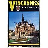 VINCENNES INFORMATION [No 385] du 01/10/1985 - INFORMATIONS SPORTIVES - UNE JEUNE VINCENNOISE AUX CHAMPIONNATS...