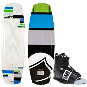 Liquid Force Harley Wakeboard 143 Mens + Liquid Force Element Bindings Sz 8-12 by Liquid Force