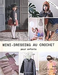 Mini-dressing au crochet pour enfants