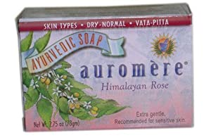 Bar Soap Ayurvedic Himalayan Rose 2.75 Ounces