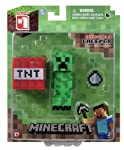 Minecraft Core Creeper Action Figure with Accessory by Minecraft