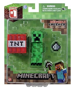 Minecraft 3-inch Creeper Action Figure