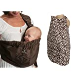 Balboa Baby Sling With Nursing Cover:Brown Cocoa