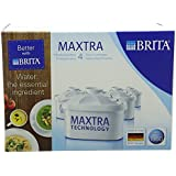 BRITA MAXTRA Water Filter Cartridges - 4 Pack