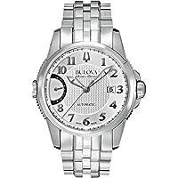 Bulova Accu Swiss 63B172 Stainless Steel Dress Men's Watch