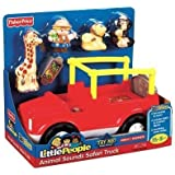 Little People Animal Sounds Safari Truck with Bonus Monkey Figure