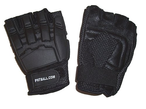 Paintball Sport Hardback Paintball Gloves, Small/Medium, Exposed Fingertips