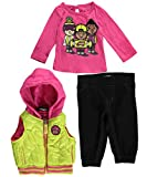"""Trukfit Baby Girls' """"Board Up"""" 3-Piece Outfit"""