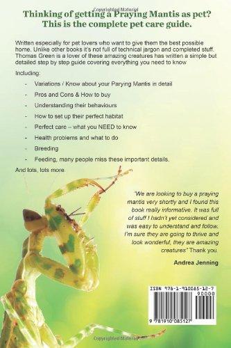 Praying Mantis Ultimate Care Guide