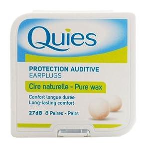 Quies Wax Ear Plugs 8 Pairs