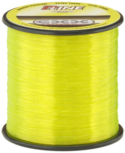 P-Line CXX-Xtra Strong 1/4 Size Fishing Spool (600-Yard, 12-Pound, Fluorescent Green) (Fluorescent Fishing Line compare prices)