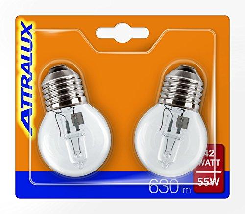 attralux-925647544217-confezione-da-2-lampadine-alogene-e27-consumo-42-w-luce-bianca-calda