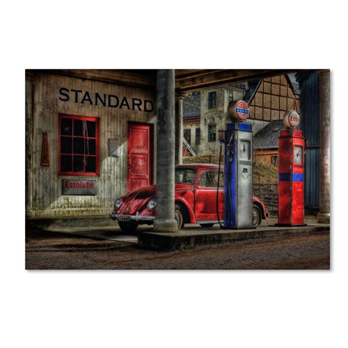 Trademark Fine Art Fuel Artwork by Erik Brede, 30 by 47-Inch (Volkswagon Beetle Fuel Pump compare prices)