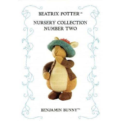 Beatrix Potter Nursery Collection Number Two: Benjamin Bunny (Knitting Pattern)