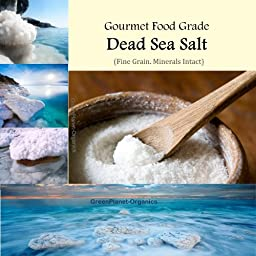 6 LBS Pure Dead Sea Mineral Salt (Gourmet Food Grade) Healthier substitute for common table salt