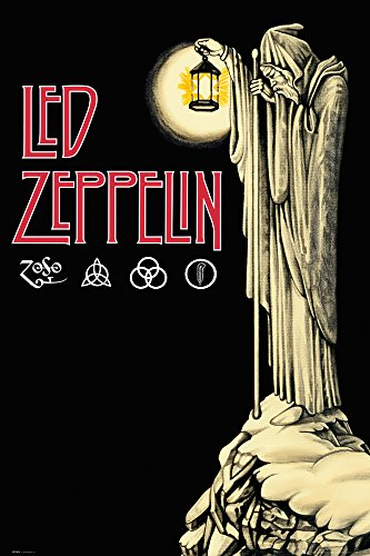 GB eye, Led Zeppelin, Hermit, Maxi Poster, 61x91.5cm