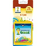 Panini 7998 - FIFA World Cup Brasil 2014 Sammelsticker Sonderblister mit 15 Tüten und 5 Sticker
