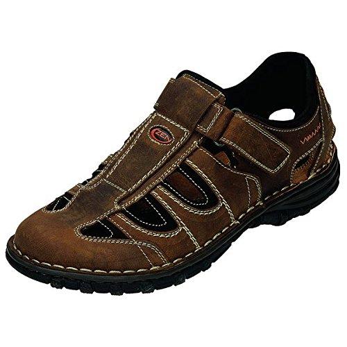 Zen sandali uomo 660200, Marrone (marrone), 43 EU