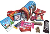 Happy Holidays ~ Treat Filled Mailbox Nesting Box ~ Filled with an Assortment of Candies and Treats (Small)