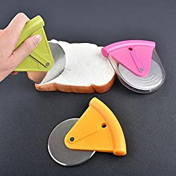 LussoLiv Home Family Stainless Steel Pizza Cutter Kitchen Accessorie Pizza Cake Tools Pizza Wheels