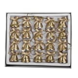 Gisela Graham Gold Mini Bell Garland - 160cmby Gisela Graham