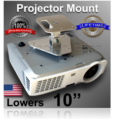 Projector-Accouterments Projector Ceiling Mount for NEC LT380 with 10 Stretching