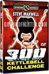 300 Kettlebell Challenge Instructional DVD Set Starring Steve Maxwell, 18 Powerful Exercises + Full…