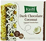 Kashi Fruit & Grain Bar, Dark Chocolate Coconut, Layered Granola Bars 6.7 Ounce (Pack of 6)