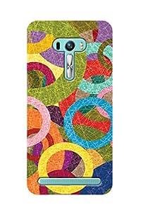 ZAPCASE PRINTED BACK COVER FOR ASUS ZENFONE SELFIE - Multicolor