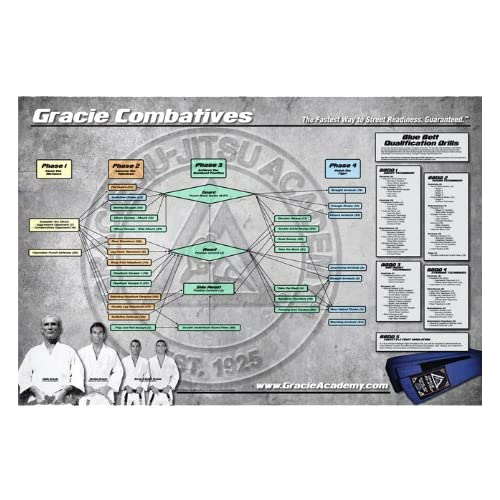 Amazon.com: Gracie Combatives Flowchart