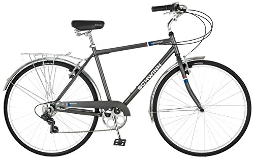 Schwinn Wayfarer 700c Men's Bicycle, Grey, 18
