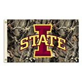 Iowa State Cyclones 3 Ft. X 5 Ft. Flag W/Grommets - Realtree Camo Background
